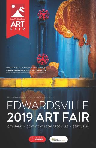 6th Annual Edwardsville Art Fair September 27-29, 2019