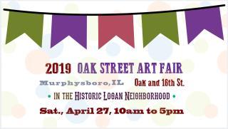 Oak Street Art Fair, Murphysboro IL, April 27, 2019