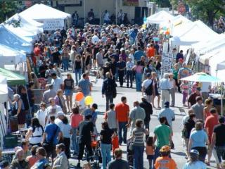 Glenwood Avenue Arts Festival is always well-attended