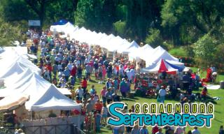 Septemberfest logo and arts & crafts show photo