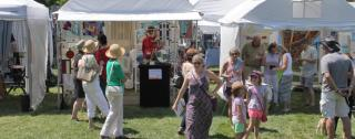 Crowds attend this show to see artists from across Illinois and beyond!