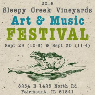 Sleepy Creek Vineyards Art Festival